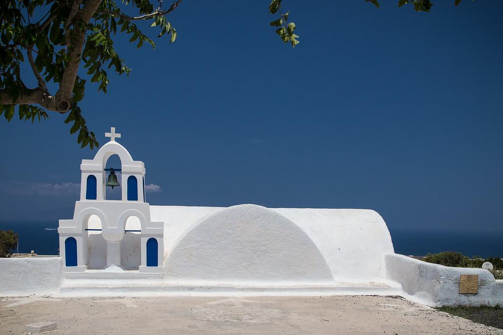 Mini church in Chora