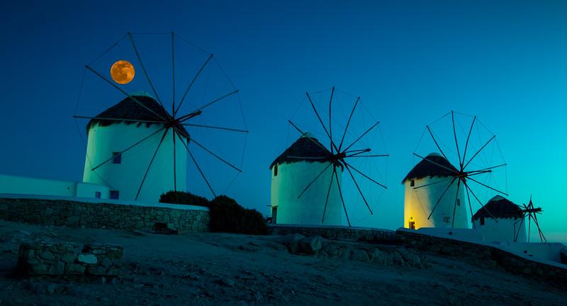 Windmills in Mykonos #1
