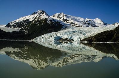 Portage Glacier reflection, AK