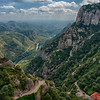 Valleys Below Montserrat