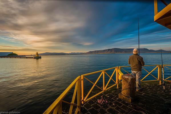 The Fisherman in Reykjavik