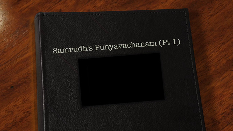 Samrudh's Naming Ceremony