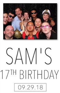 Sam's Birthday