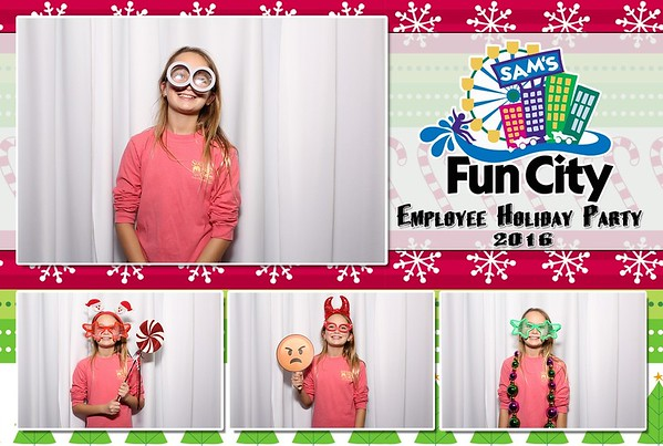 Sam's Fun City Employee Holiday Party 12-14-2016