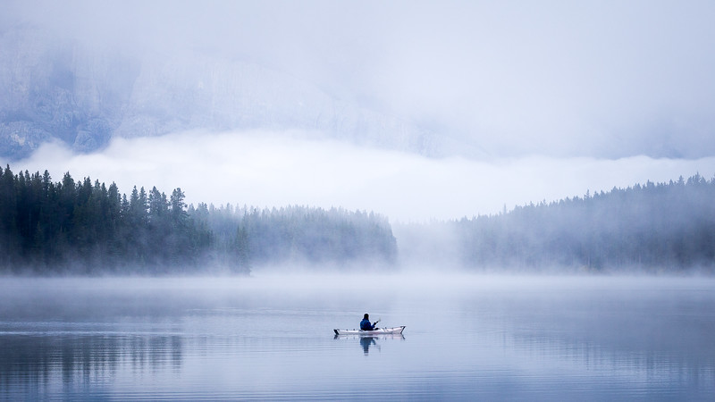 Fog Kayak Two Jack