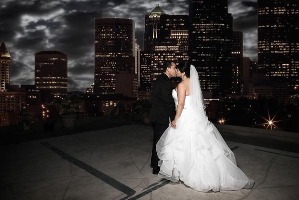 Samuel Rivera Photography, Oviatt Penthouse Wedding.