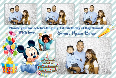 Samuel's 1st Birthday and Baptism (Fusion Photo Booth)