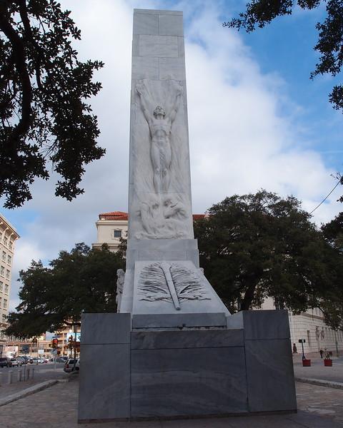 The Alamo Cenotaph #1