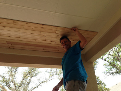 Cedar Patio Ceiling