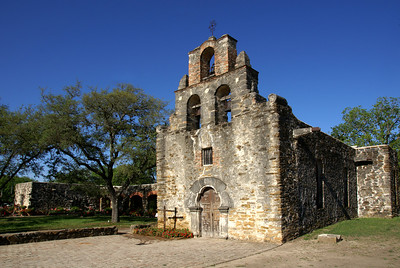 Church was built in the 1740's while the bell towr was added in the 1780's.