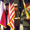 The Colors are presented at the Red Cross Muster for the Military 2009.  These Veterans did an outstanding job displaying the honorable tradition of recognizing our Flag.