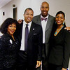 Barbara Campbell (Joy Keeper Executive Director), Christopher Herring, Bruce Bowen (San Antonio Spurs & Yardley's Salon & Spa), Lt Col Jacqueline Herring Jones (United States Air Force)