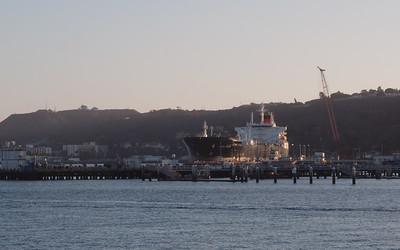Tanker in Port