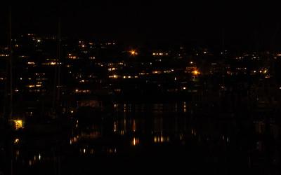 Across the Marina at Night