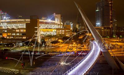 Petco Park at night