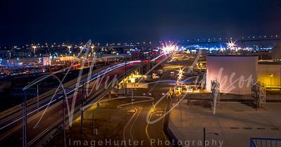 Night at the railyard