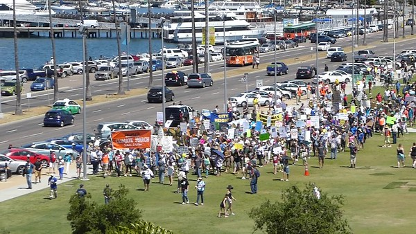 San Diego 350 - People's Climate March