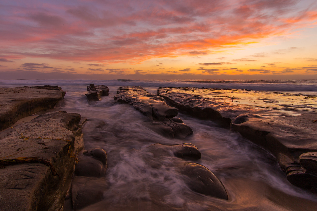 Sunset at La Jolla