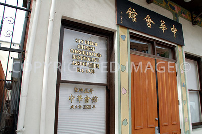 426-28 Third Avenue, San Diego, CA - Gaslamp Historic District - 1911 Chinese Consolidated Benevolent Association