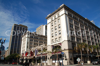 325 Broadway, San Diego, CA - Gaslamp Historic District - 1910 U.S. Grant Hotel