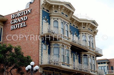 311 Island Avenue, San Diego, CA  -  Gaslamp Historic District - 1887 Italianate Horton Grand Hotel