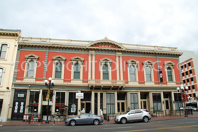 526-546 Market Street, San Diego, CA - Gaslamp Historic District - 1882 I.O.O.F Building