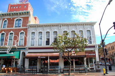 813-823 Fifth Avenue, San Diego, CA - Gaslamp Historic District - 1886 Hubbell Building
