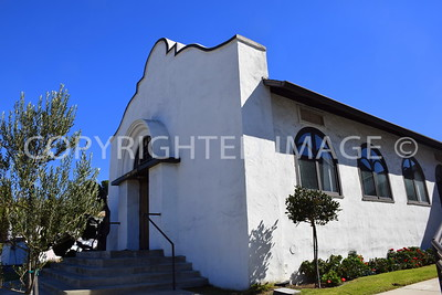627 Genter Street, San Diego , La Jolla - 1907 St. James Chapel, Irving Gill, Architect