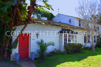 347 Dunemere Drive, San Diego, CA - La Jolla - 1931 Spanish Colonial Charles D. and Laura K. Larkins House