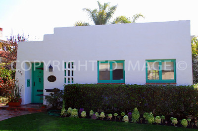 409 Dunemere Drive, San Diego, CA - La Jolla - 1923 Pueblo Revival Style Marie Louise Biggar and Herbert J. Mann House