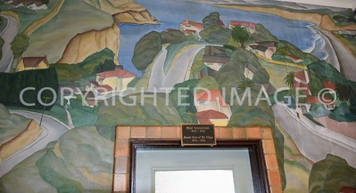 1140 Wall Street, La Jolla, CA - 1935 La Jolla Branch Post Office; Mural by Artist Belle Baranciau