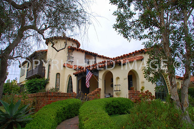 3105 Freeman Street, San Diego, CA - Point Loma - 1931 Spanish Style Frank Guasti Home