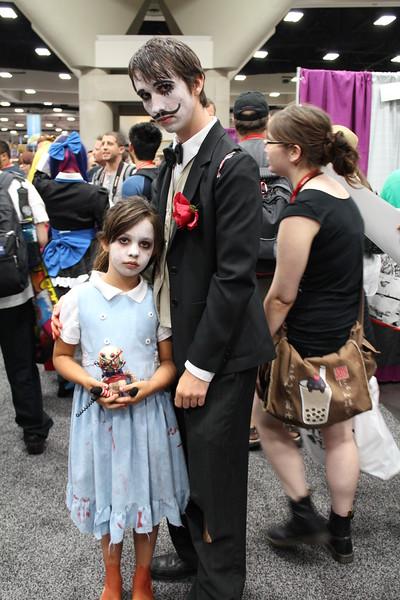 Little Sister and Sander Cohen