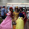 Ariel, Belle, and Snow White