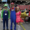 Luigi, Mario, and Princess Peach