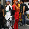 Rei Ayanami and Asuka Langley Soryu