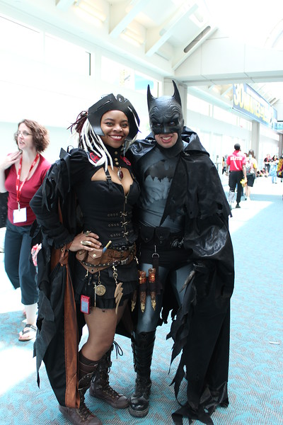 Storm and Batman