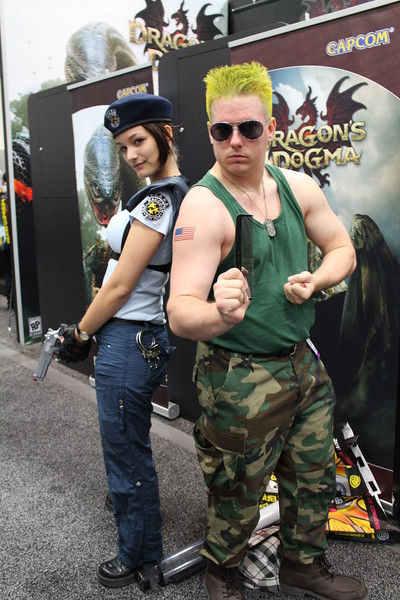 Jill Valentine and Guile