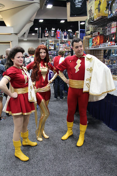 Mary Marvel, Dark Phoenix, and Captain Marvel