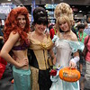 Ariel, Belle, and Cinderella