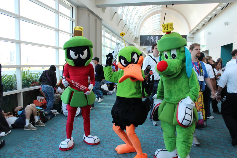 Marvin the Martian, Duck Dodgers, and K-9