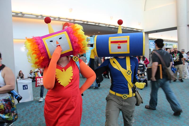 Katamari Damacy Dark Phoenix and Cyclops