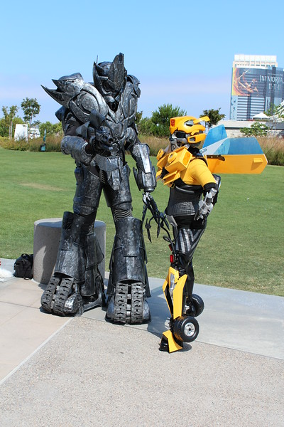 Megatron and Bumblebee