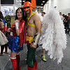 Wonder Woman and Hawkman