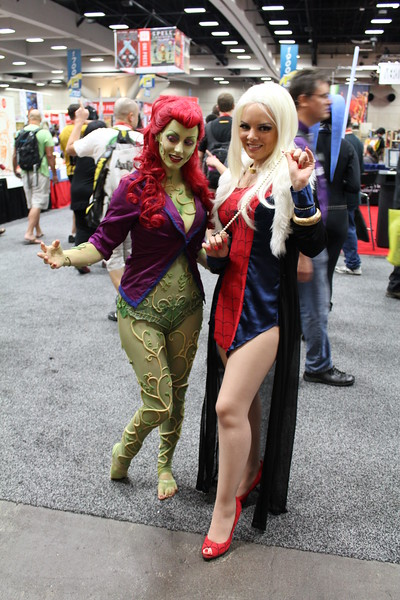 Poison Ivy and Black Cat
