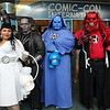 White Lantern, Black Lantern, Blue Lantern, and Red Lantern