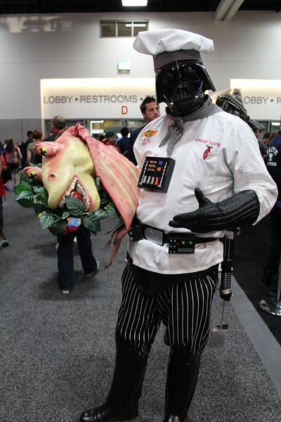Darth Vader and Jar Jar Binks