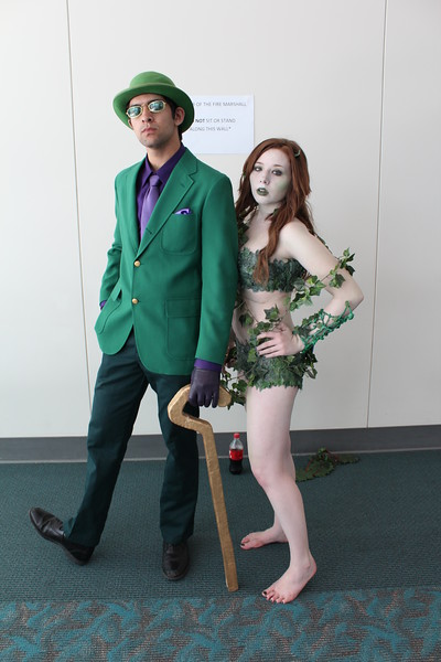 Riddler and Poison Ivy