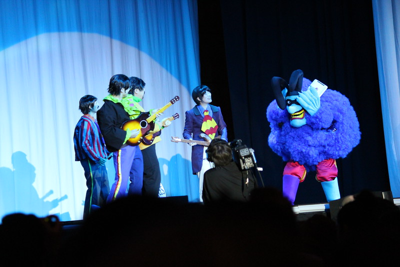 Beatles and Chief of the Blue Meanies