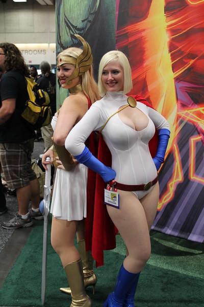 She-Ra and Power Girl